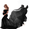 Abito da Gravidanza per Donna Puntelli per Fotografia Abiti Elegante Premaman Spalle Scope...