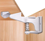 Bambino Chiusure di Sicurezza Armadio 14 Pezzi Safe Lock con Unlock Invisibile Design, Blo...