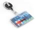 BE-HOLD Porta badge: Custodia per badge o documento d'identità con bobina retrattile. Cord...