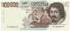 Cartamoneta.com 100000 Lire Banca d'Italia Caravaggio I Tipo Lettera F 10/03/1993 qFDS