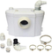 Trituratore Maceratore per WC con FILTRO Antiodore & Silenzioso Lame in Acciaio Inox - 3 a...