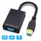 Adattatore USB a VGA, ABLEWE USB 3.0/2.0 a VGA Convertitore 1080P (maschio a femmina), Mu...