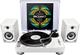PIONEER PLX500DM-PACK-W 'kit risparmio' giradischi professionale PLX-500-W e coppia di dif...
