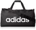 adidas Lin Core Duf M Borsone, 55 cm, Nero (Black/Black/White)