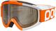 POC, Maschera da Sci, Modello Iris, Arancione (Zink Orange), S