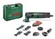 Bosch Home and Garden Utensile Multifunzione PMF 250 CES Set, Verde