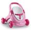 Smoby- Minikiss 3 in 1-Passeggino per Bambole, per Bambini dai 12 Mesi Colore: Rosa, 21020...