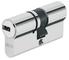 ABUS 508516 - D6_N_10/40 Medio Eurocilindro con llave de puntos niquel 5 K y T