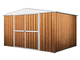 Notek Srl Box in Acciaio Zincato Casetta da Giardino in Lamiera 3.60 x 3.45 m x h2.12 m -...