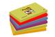 Post-it Super Sticky Fogliett, 90 Fogli, Confezione da 5 Blocchetti, 76 x 127 mm, Multicol...