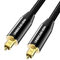 UNBREAKcable Cavo Ottico Audio Digitale Toslink 2M - [Placcato Oro] Cavo Optical Coassiale...
