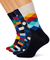 Happy Socks Mix Gift Box, Calze Uomo, Blu (Navy 6000), 41-46 EU Pacco da 4