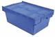 Tayg 265006 Euro-scatole con Coperchio per stoccaggio e Trasporto Nº6424-T, Blu