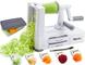 Spiralizer per verdure Affettatrice di verdure con 5 lame, Zucchine Spaghetti Maker Zoodle...