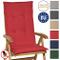Beautissu Cuscino per Sedia a Sdraio Loft HL 120x50x6cm Resistente e Comodo Anche per sedi...