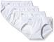 Sloggi Basic+ Mini 4P Slip, Bianco (White 0003), IT 4 EU 44 (Pacco da 4) Donna