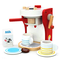 yoptote Macchina Caffe Legno Accessori Cucina Giocattolo Caffettiera SetCaffe da Cucina G...