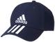 adidas 6P 3S cap Cotto, Cappellino Unisex – Adulto, Legend Ink/White/White, OSFM