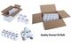 Rotoli di carta termica 80 mm x 80 mm, per macchine fino a macchina e rotoli di carta di c...