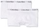 Calvin Klein Modern Trunk Intimo, Bianco (White/White 100), 12-14 Anni (Pacco da 2) Bambin...