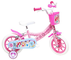 Mondo Bici Bicicletta Ruota 12 Princess W.D. con Rotelle 25119