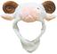 Petitebelle Marron Blanc Mouton Chapeau Masque Unisexe Dress Up Costume de fête pour Enfan...