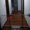 L.TSA - Cancelletto per Animali Domestici con Porta Passante, Altezza 75 cm, Montaggio a P...