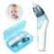 Aspiratore Nasale Neonato, Pulitore Naso Elettrico Ear Wax Cleaner Kit Neonato con 3 Ugell...