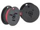 Nastro - nero-rosso - Compatibile con Ibico 1232 X come doppia bobina Compatibile con 1232...