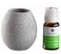 SudoreWell®, ciotola aromatica per sauna in pietra ollare e concentrato per sauna all'euca...