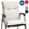 Beautissu Cuscino Sedia da Giardino Base NL - Cuscino per sedie Sdraio e poltrone da Giard...