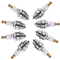 Dreld - Set di 4 candele universali a 2 tempi, per tosaerba, decespugliatori e motoseghe