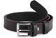 Ladeheid Cintura per Bambini in 100% Vera Pelle K1D5 (Nero/Rosso, 70 cm (Lunghezza totale...