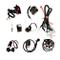 Sharplace Cablaggio Completo CDI Gruppo Statore Magnete Per ATV QUAD Dirt Bike 150-250cc
