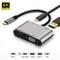 USB C Hub to VGA HDMI, da USB C a HDMI 4K, VGA 1080P, Hub 4 in 1 Adattatore Tipo C USB 3.0...
