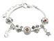 Jewellery Hut - Braccialetto per bambine con Topolino e Minnie, con confezione regalo, dis...