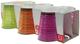 Bicchiere Nadia Style 3 colori, confezione da 6, 25 cl