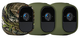 Arlo VMA4200-10000S Kit 3 Cover, Camouflage/Verde, 3 fundas multicolor, Set di 3 Pezzi
