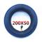 Housesweet - Camera d'aria per pneumatici di monopattini elettrici Razor e100, e125, e150,...