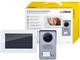 Vimar K40910 Kit Videocitofono Monofamiliare da Parete, Grigio la Targa e Bianco Il Monito...