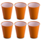 Omada Design Set di 6 Bicchieri bar, da bibita o long drink 30 cl, altezza 10 cm,in plasti...