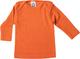 Cosilana - Canottiera a maniche lunghe, 70% lana, 30% seta Colore: arancione. 98/104