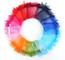 100 Pezzi Multicolore Organza Sacchetti Regalo Buste di Nozze Favore per Gioielli 7 * 9cm