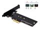 EZDIY-FAB PCI Express M.2 SSD NGFF PCIe Card to PCIe 3.0 x4 Adapter (Support M.2 PCIe 2211...