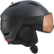 Salomon Casco da Sci e Snowboard con Visiera Per Uomo, Solution OTG, Interno in Schiuma EP...