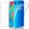 Leathlux Cover per Samsung Galaxy M20 Custodia + Pellicola Vetro Temperato Galaxy M20, Mor...
