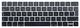MMDW - Cover per tastiera in lingua spagnola ESP compatibile con MacBook Pro 13 15 pollici...