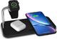 ZENS zedc05b/00 caricatore senza fili duales Design in alluminio con Smart watch Ladepad,...