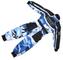 Wulfsport - Tuta Intera da Ragazzo per Quad e Gare, Motivo Mimetico - Blue Camo - Junior M...
