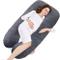 Dream Night - Cuscino per gravidanza, a forma di U, per gravidanza, 3 kg, 80 cm, 140 cm